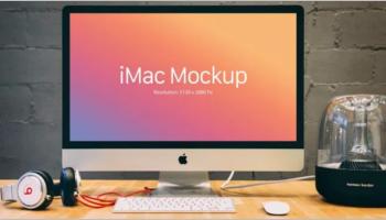 iMac Mockup Templates