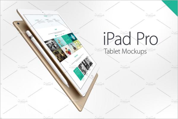 iPad Pro Device Mockup Design