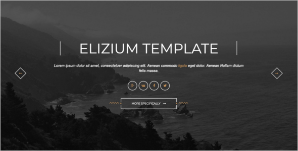 jQuery HTML5 & CSS3 Template