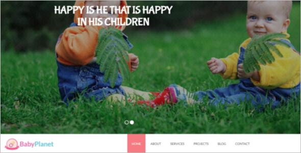 kindergarden HTML5 Template