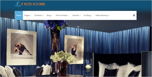 luxurious Hotel Joomla Template