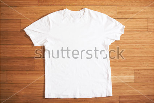 white T-Shirt Clothing mockup Design