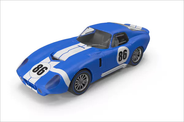 3D Animated Car Model