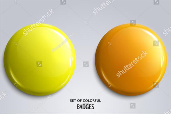 3D Badges Shape Design Download