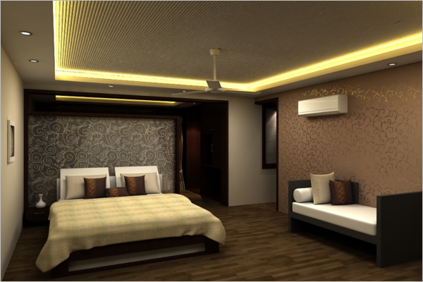 48 printable 3d designs free images objects creative for Bedroom design template