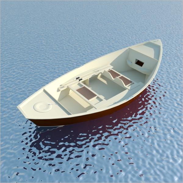 3D Boat Max Model