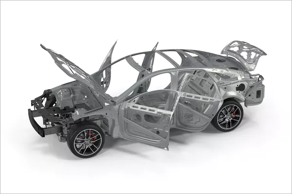 3D Car Frame Design