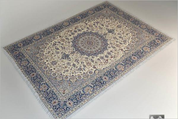 3D Carpet Design Model