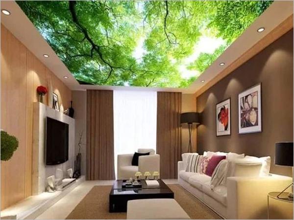 3D Ceiling Texture Design