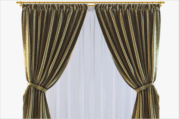 3D Curtain Design For Home