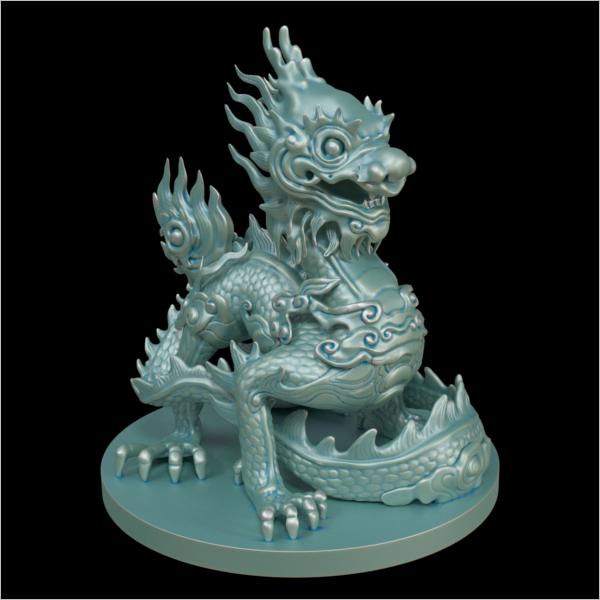3D Dragon Max Design