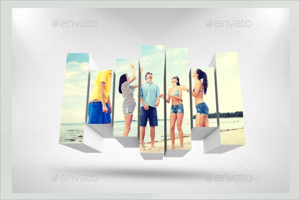 3DPhoto Box Template Bundle