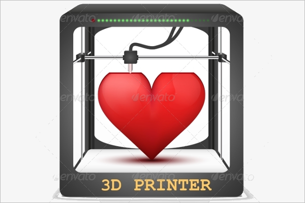 3D Printer Heart Design