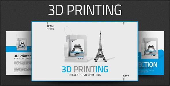 3D Printing Company Template