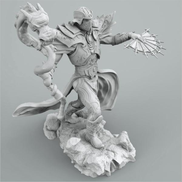 3D Printing Dragon Design