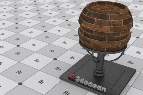 3D Render Design Model
