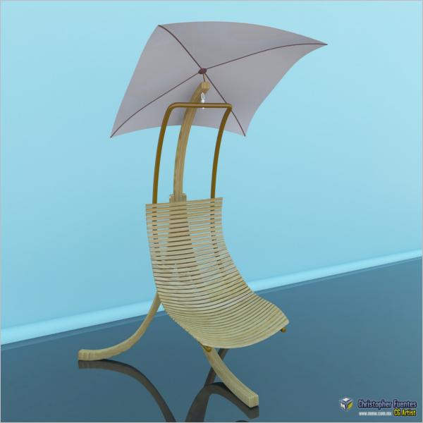 3D Riddged Maya Model
