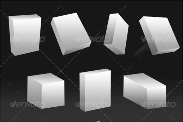 3D Shape boxes Design