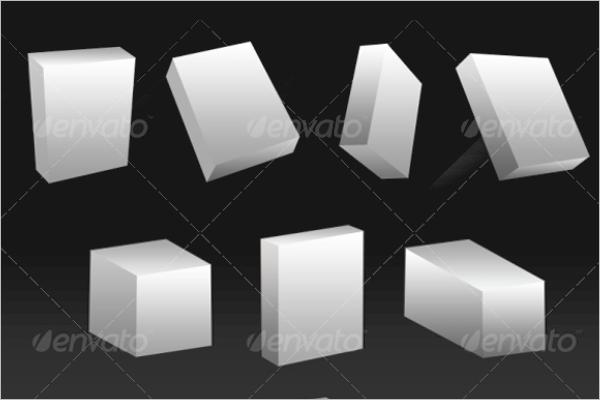 3D Shape boxes Design