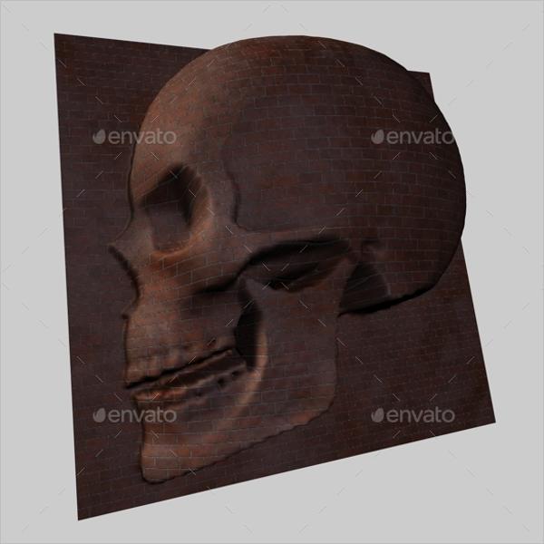 3D Skull Image Design