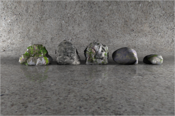 3D Stone View