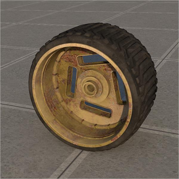 3D Wheel Design Model