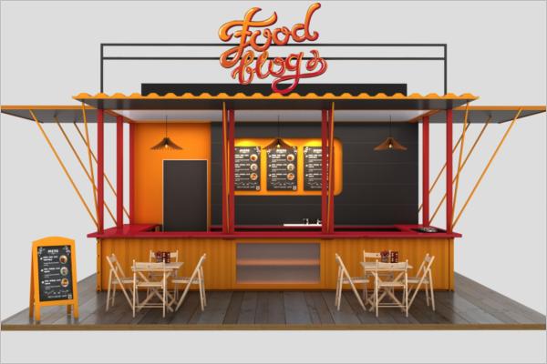 3D Cafe Design