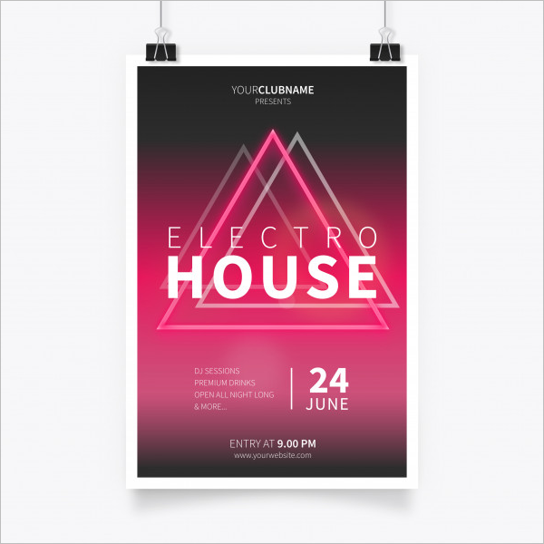 A4 Poster Template