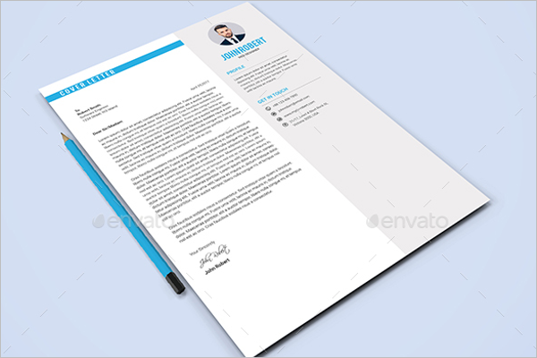 A4 Resume Cover Letter