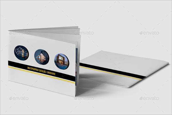 A5 Catalogue Design Template