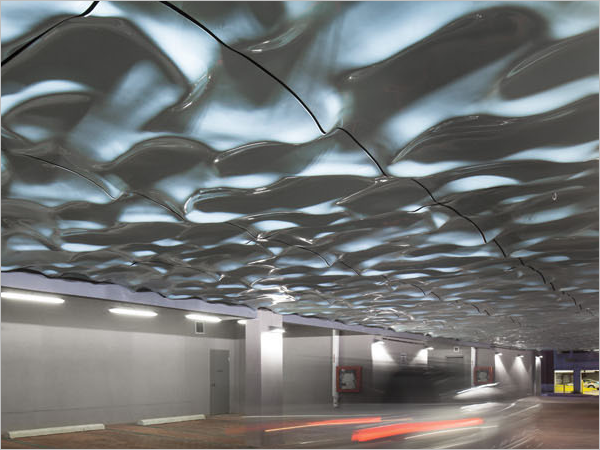 Abstract Ceiling Texture Design