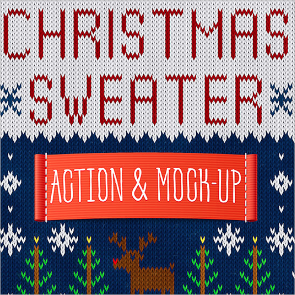 Action Mockup Photoshop Design