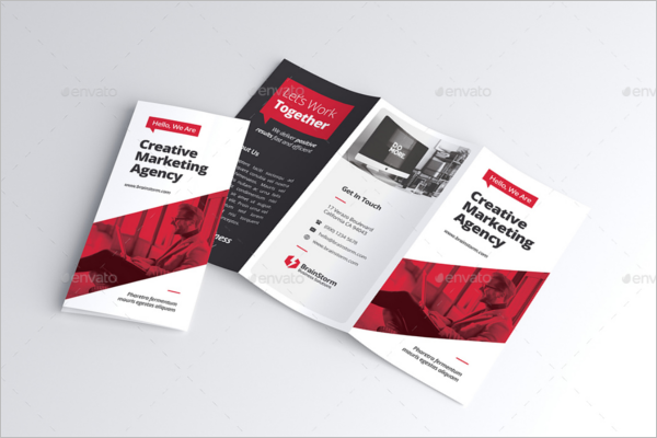 Advertising Brochure Template