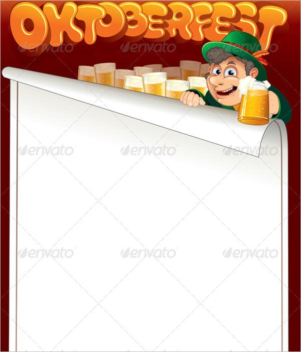 AlcoholBlank Menu Template