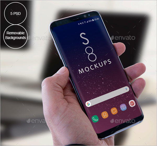 Android App Mockup Design Template