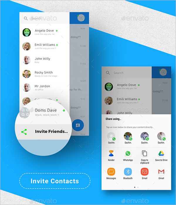 Android Chatting App Design