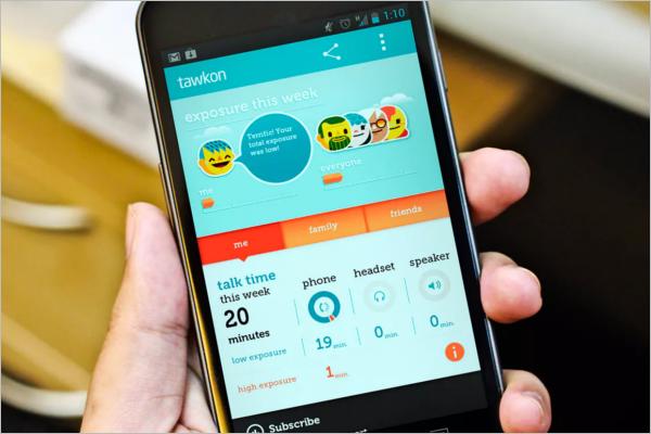 Android Mobile App UI Design
