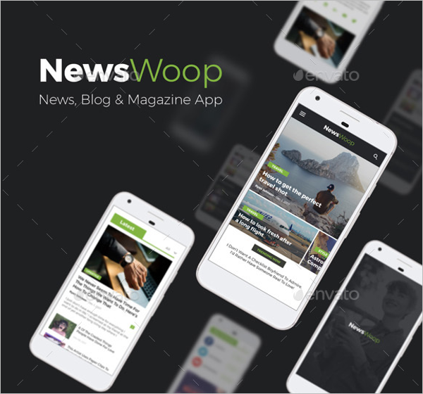 Android News App Design Template