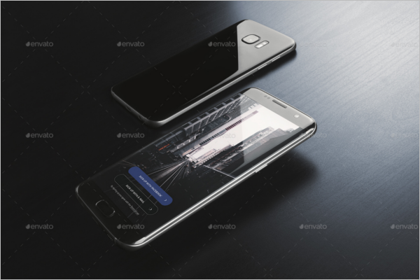 Android Phone App Design Template
