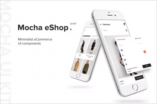 Android eShop Mobile App Design
