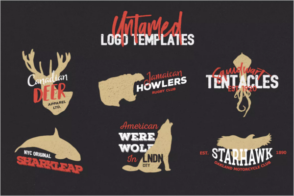 Animal Designed Logo Template