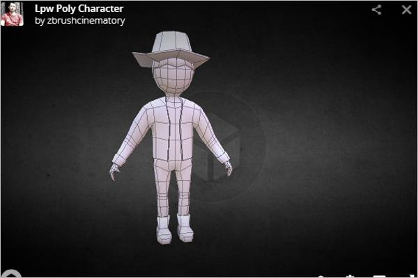 Animation 3D Maya Model