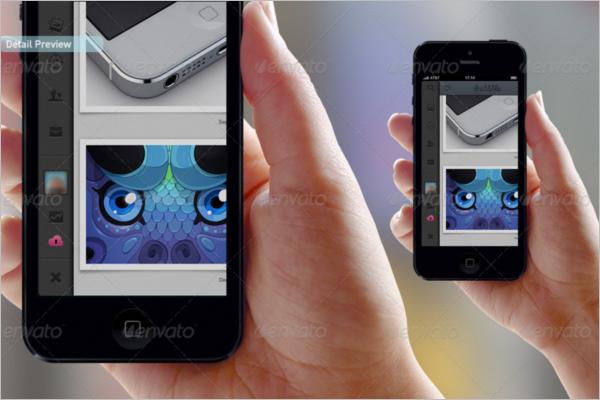 App Mockup For Mobile