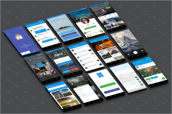 App UI Design For Android