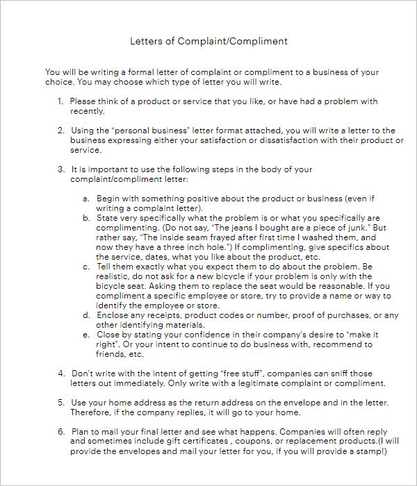 Application For Formal Letter