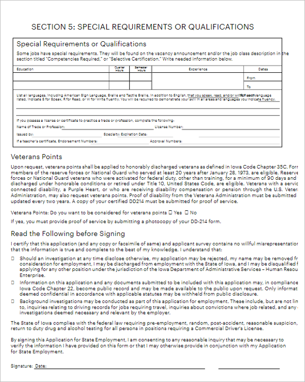 Application Letter For Any Position