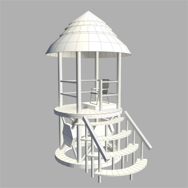 Archive Hut 3D Design
