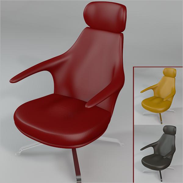 Armchair 3D Design