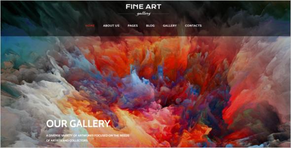 Art Gallery Joomla Template