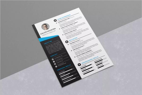 Attractive Resume Design Template